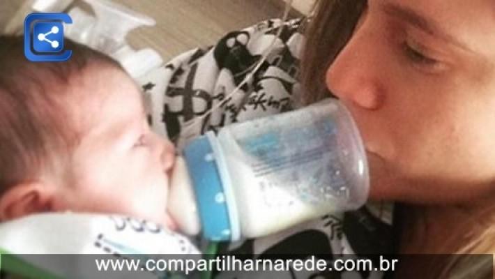Drama de Fernanda Gentil por não amamentar é comum, mas tem solução