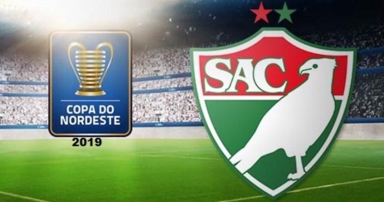 Salgueiro enfrentará o Confiança fora de casa na estreia da Copa do Nordeste 2019