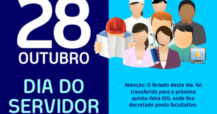 Salgueiro - Prefeitura adia feriado do último domingo (28) para próxima quinta-feira (01)