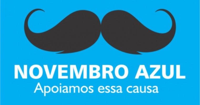 Campanha Novembro Azul conscientiza público masculino para a importância da prevenção ao câncer de próstata