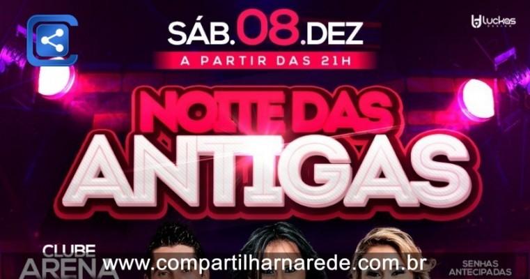 Sábado 8 de Dezembro no Clube Arena Prime em Salgueiro-PE.