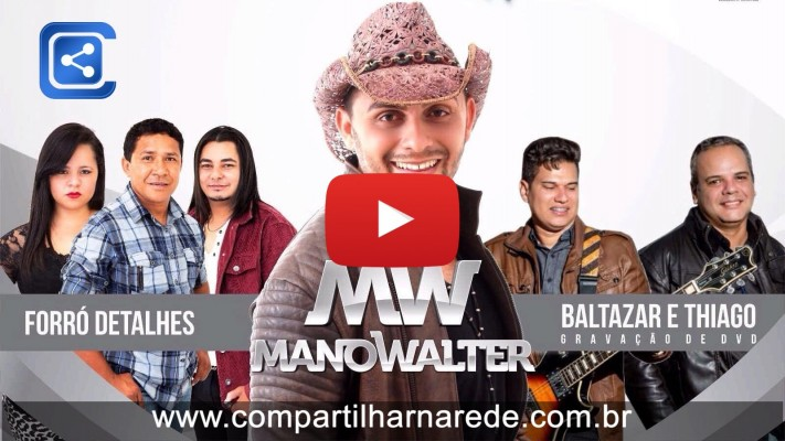 Mano Walter - PRÉ REVEILLON 29 DEZ TALISMÃ HALL - Evento mais esperando do ano em Salgueiro, PE