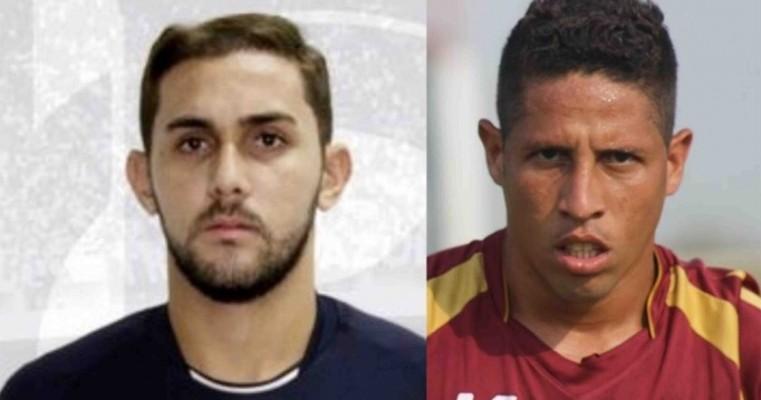 Salgueiro anuncia acerto com atacante Thomas Anderson e o zagueiro Igor João