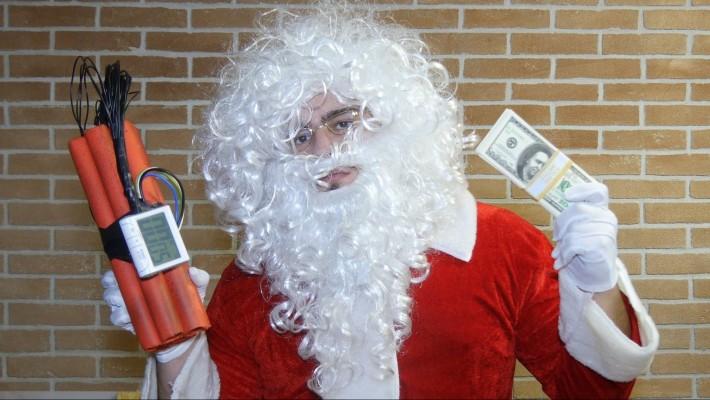 Pegadinha: Papai Noel Psicopata