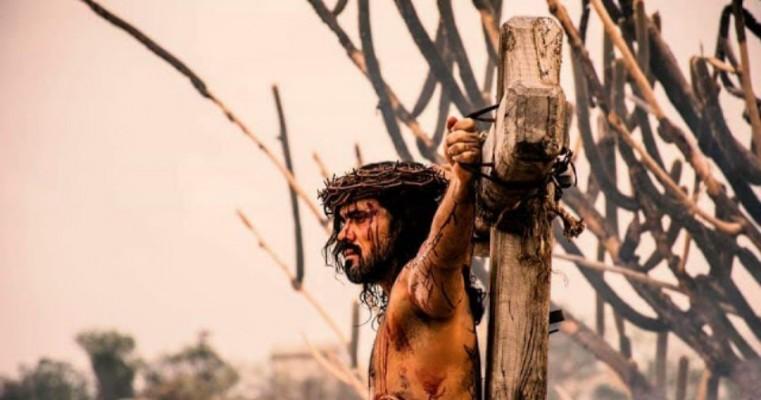 Começaram as gravações dos filmes publicitários da Paixão de Cristo de Nova Jerusalém