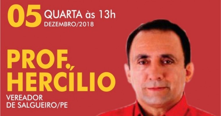 CONFIO PLENAMENTE NO EX PREFEITO DR MARCONDES DISSE O VEREADOR HERCÍLIO