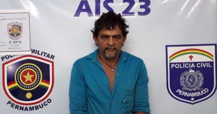Acusado de homicídio no Cedro-PE é preso em Araripina-PE