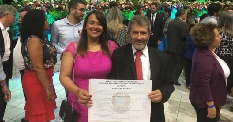 Gonzaga Patriota é diplomado para o nono mandato de deputado federal