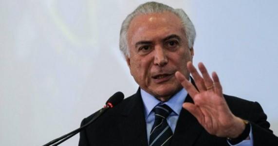 Temer anuncia intervenção federal em Roraima até o fim do ano