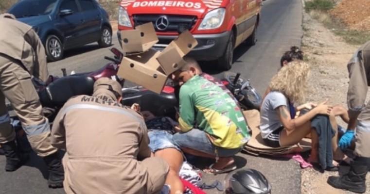 Petrolina PE – Colisão Entre Duas Motocicletas na Rodovia Perimetral