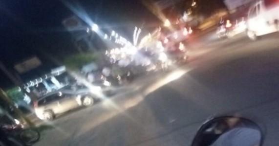 Petrolina PE – Acidente Grave Envolvendo Duas Motocicletas no Cruzamento para a Avenida dos Tropeiros