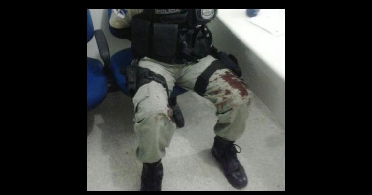 PM é baleado durante operação no bairro São Cristóvão em Serra Talhada