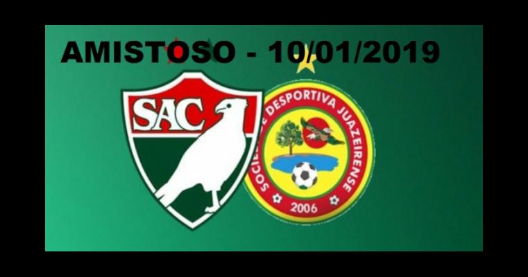 Salgueiro e Juazeirense marcam amistoso para a próxima quinta-feira