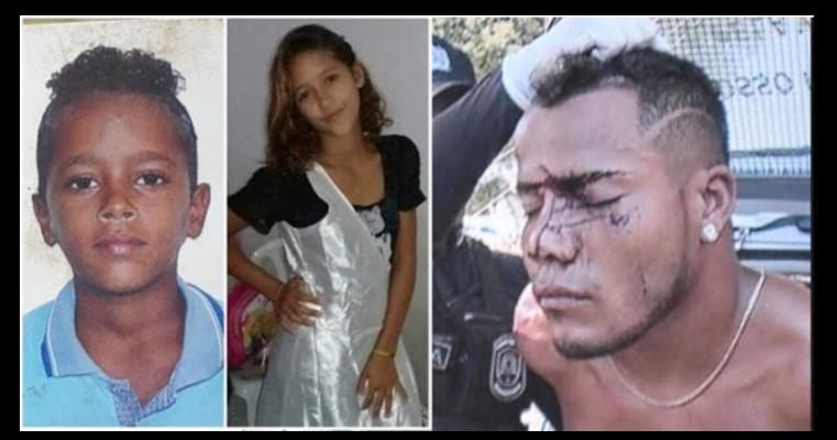 Homem mata enteados de 11 e 13 anos após tentar abusar de uma das crianças, em PE