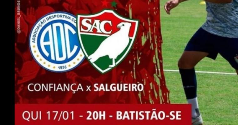 Salgueiro estreia na Copa do Nordeste 2019 nesta quinta-feira contra o Confiança