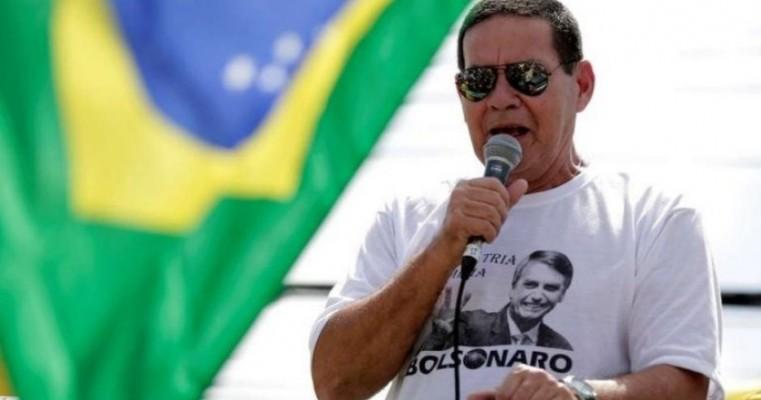 Pessoal está se antecipando ao inimigo', diz Mourão ao responder sobre embargo da Arábia a frango