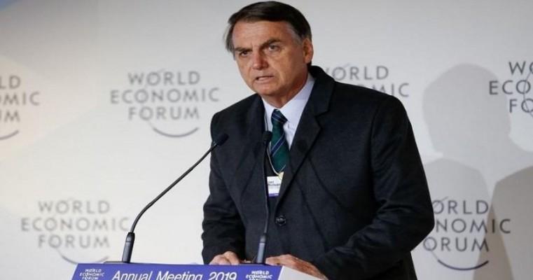 'Tudo o que falamos em Davos temos condições de fazer', diz Bolsonaro