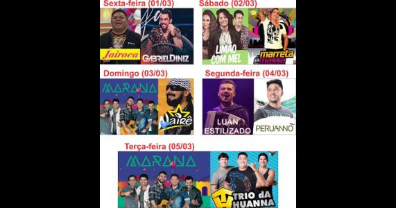 Prefeito de Salgueiro anuncia programação do Carnaval 2019