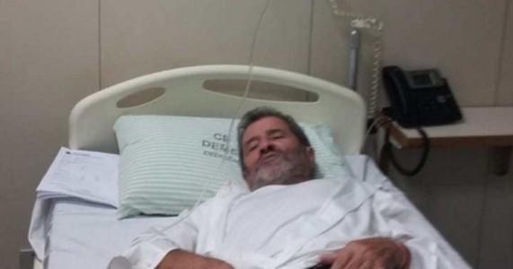 Acometido de dengue, Gonzaga Patriota é internado em Brasília
