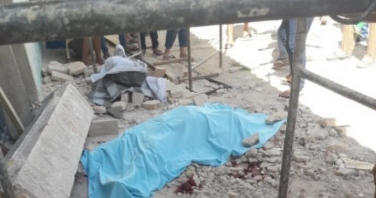 Laje de concreto desaba e mata mestre de obras em Missão Velha, no Ceará