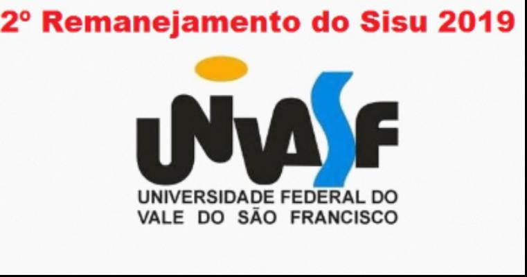 Univasf divulga 2º Remanejamento do Sisu 2019