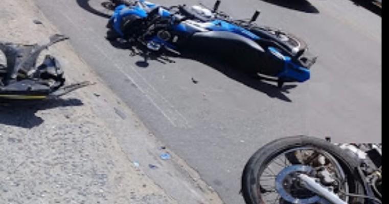 Juazeiro BA — Acidente de Moto na Avenida Adolfo Viana