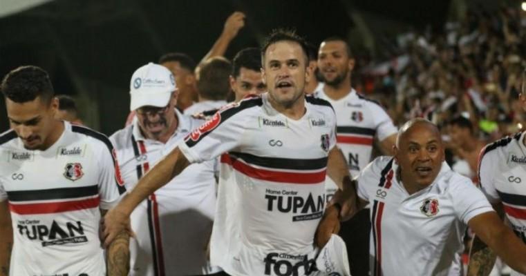 Santa Cruz visita Ceará pela Copa do Nordeste na tela da TV Jornal