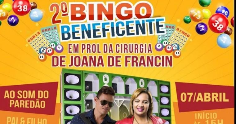 2° BINGO BENEFICIENTE COM ROSY VAQUEIRA EM VILA MALICIA-SALGUEIRO-PE