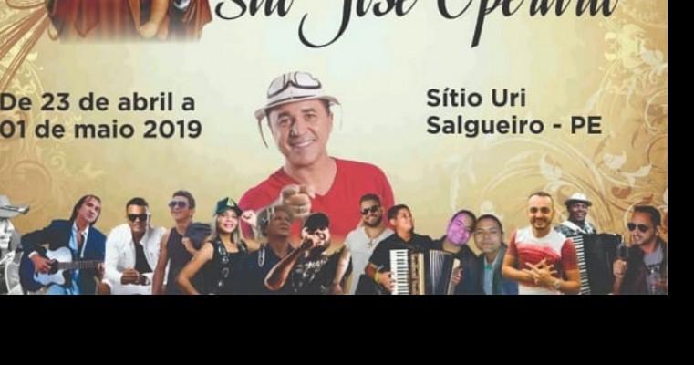 Divulgada a programação completa da Festa de São José Operário do Sítio Uri