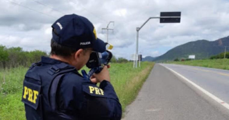 PRF já aplicou mais de 8 mil multas por excesso de velocidade no Ceará em 2019