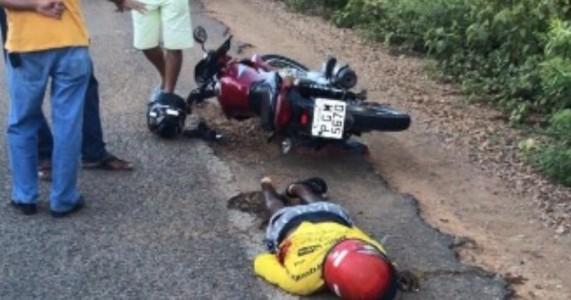 Mirandiba- Mototaxista é assassinado na PE 425, próximo ao Posto Carvalho