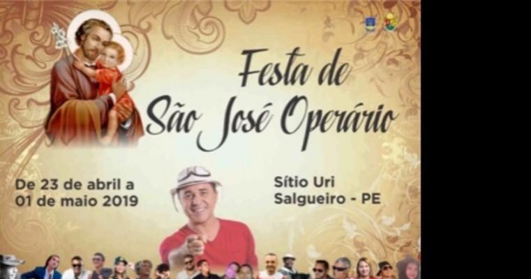 Festejos de São José Operário 2019 no sítio Uri promete ter lotação neste Sábado e Domingo
