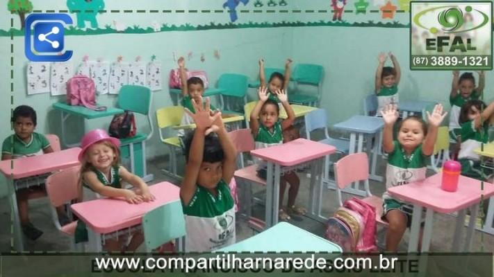 Educação em Cedro, PE - Escola Francisco de Assis Leite