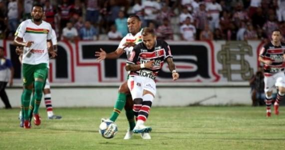 Santa fica no empate contra o Sampaio Corrêa pela Série C