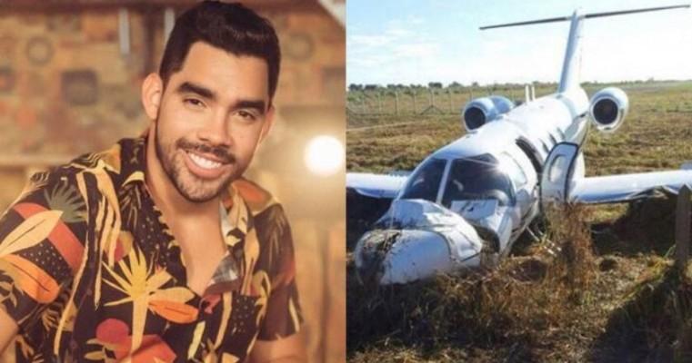 Morre cantor Gabriel Diniz após queda de avião, em Sergipe