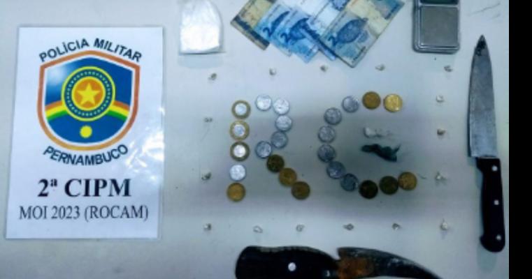 Cabrobó — Polícia Militar Desmancha Boca de Fumo no Bairro Alto da Temperatura