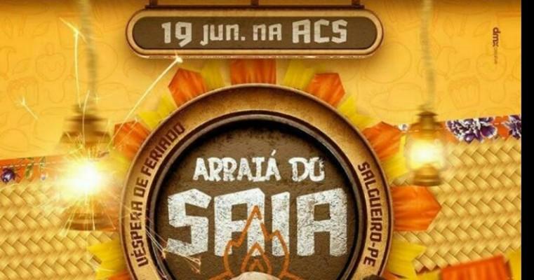 19 DE JUNHO NA ACS ARRAIÁ DO SAIA