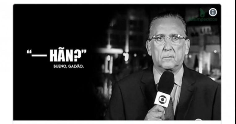 """Ahm?"""" Reação de Galvão Bueno a entrada de Fernandinho viraliza nas redes sociais"""