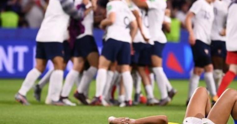 Na prorrogação, Brasil é eliminado pela França no Mundial
