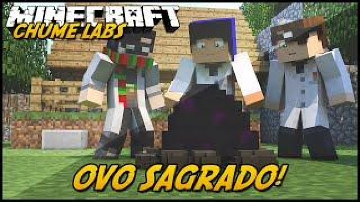 Minecraft: CHUME LABS - OVO SAGRADO! #19