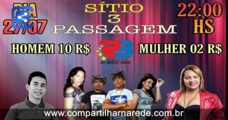 27 DE JULHO NO BAR DO CELIO, SITIO PASSAGEM