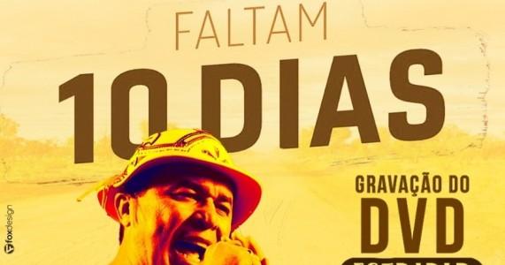 Faltam 10 dias para a gravação do DVD ESTRADAR do Poeta e Cantador @flavioleandrooficial