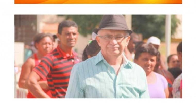 Ex-Prefeito Marconis Libório foi visto na feira livre deste sábado(20)