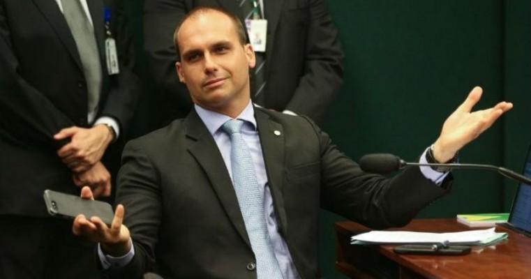 Consultoria do Senado diz que indicação de Eduardo Bolsonaro é nepotismo