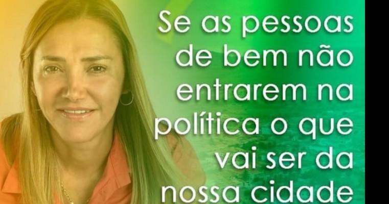 SE AS PESSOAS DO BEM NAO ENTRAREM NA POLÍTICA O QUE VAI SER DA NASSA CIDADE DECEDRO