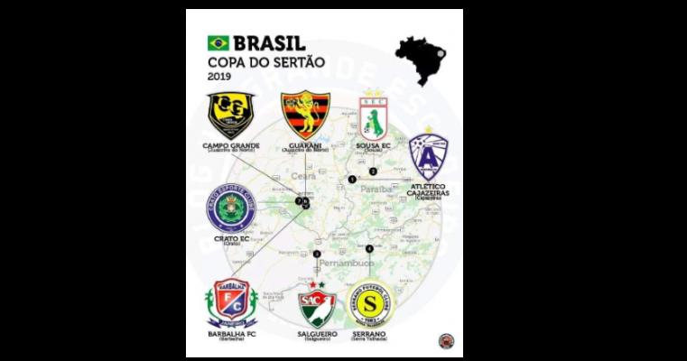 Salgueiro vai disputar torneio com times da Paraíba e Ceará