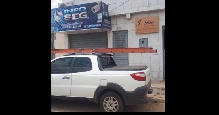 Salgueiro – Veículo de empresa provedora de internet é tomado de assalto nas proximidades do Sitio Pau Ferro