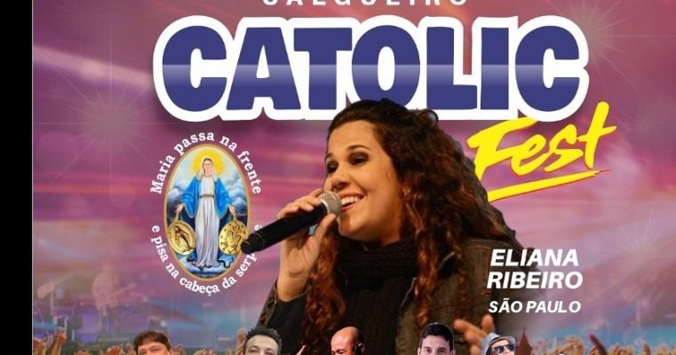 Eliana Ribeiro convida pernambuco para o Catolic Fest em Salgueiro