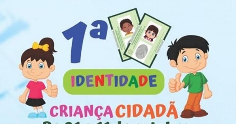 Expresso Cidadão de Salgueiro emite 1ª Carteira de Identidade para crianças a partir desta terça-feira