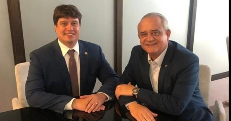 Deputado Lucas Ramos garante retomada dos trabalhos de construção da ETE de Cabrobó
